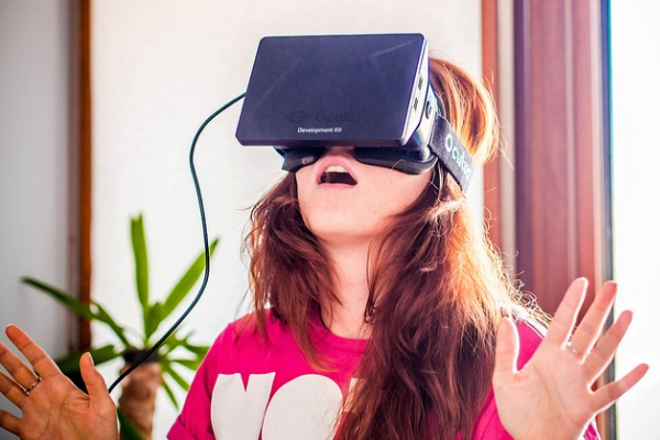 Oculus Rift. Photo by Sergey Galyonkin